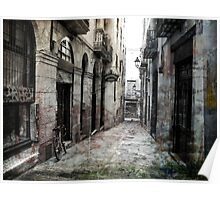 Barcelona Old City 3 Poster