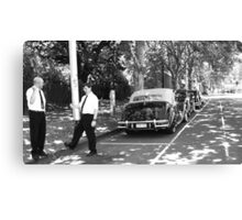 waiting for the bride and groom Canvas Print