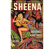 Sheena and the Tree People Photographic Print