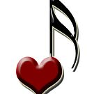 Heart Note by Flyinghorse