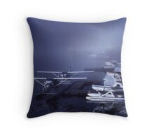 Juneau Water Front Throw Pillow