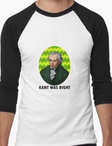 Kant Men's Baseball ¾ T-Shirt