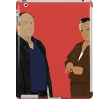 Sopranos - Tony Soprano and Paulie Gualtieri iPad Case/Skin