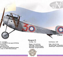 Nieuport 21 by A. Hermann
