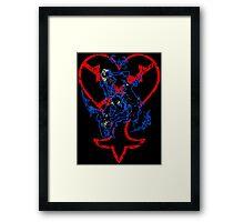 Kingdom Hearts v3 Framed Print