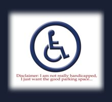 Not Really Handicapped by Ryan Houston