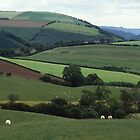 England's Green And Pleasant Land - Shropshire Hills, County Of Shropshire, England by Rebel Kreklow
