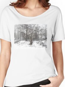 SNOW SCENE 7 Women's Relaxed Fit T-Shirt