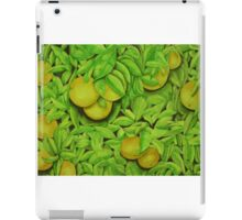 Oranges, oranges, lovely oranges. iPad Case/Skin