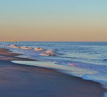 Beautiful Ocean In North Carolina by Cynthia48