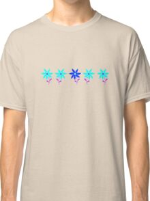 Flowers in a Row 2 Classic T-Shirt