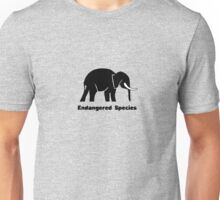 Endangered Species Elephant Unisex T-Shirt