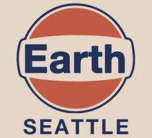 Earth Seattle Grunge Band Gulf Logo by kevinshieldsleg