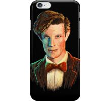 Matt Smith colour portrait iPhone Case/Skin