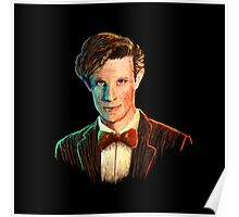 Matt Smith colour portrait Poster