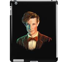 Matt Smith colour portrait iPad Case/Skin
