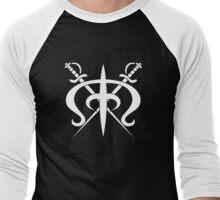 Drake Pirates Jolly Roger Men's Baseball ¾ T-Shirt