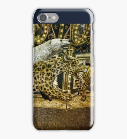 Carousel of the Wild iPhone Case/Skin