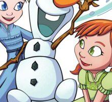 Let's Build a Snowman Sticker