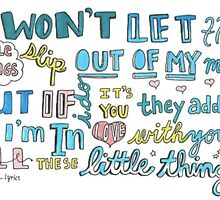 Little Things- One Direction by amysterzzlyrics