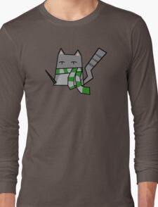 Slytherin Kitty Long Sleeve T-Shirt