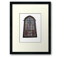 Gothic Window Framed Print