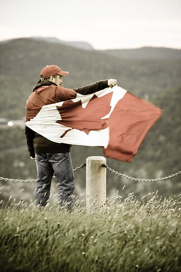 I am Canadian by Colin Tobin