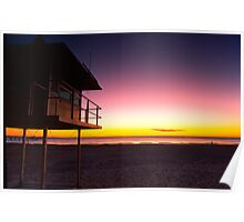 Glenelg Sunset Poster