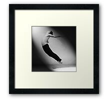 Flying Away Framed Print
