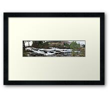 River Dochart Panorama Framed Print