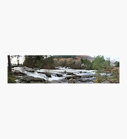 River Dochart Panorama Photographic Print