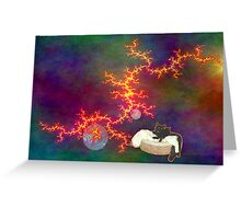 Cats in Space 6 Greeting Card