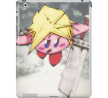 kirby strife iPad Case/Skin