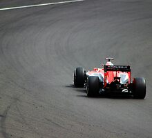 Jules Bianchi - Marussia F1 at Silverstone by hedgeryhoops