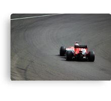 Jules Bianchi - Marussia F1 at Silverstone Canvas Print