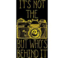 Camera yellow ink Photographic Print
