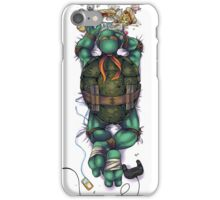 Life of a Teenage Turtle - Mikey iPhone Case/Skin