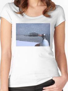 Photo Bomb Women's Fitted Scoop T-Shirt