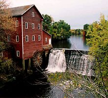 Augusta Grist mill by Tim Denny