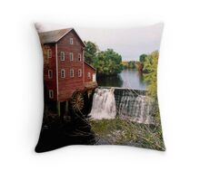 Augusta Grist mill Throw Pillow