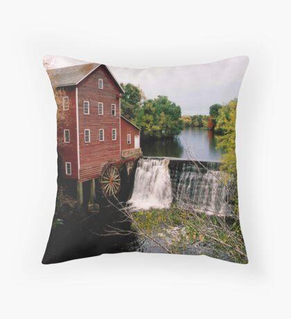 Augusta Grist mill Throw Pillow