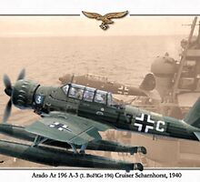 Arado Ar 196 A-3 by A. Hermann