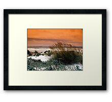 Sand Landscape Framed Print