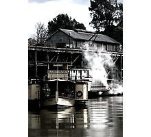 The Port of Echuca Photographic Print