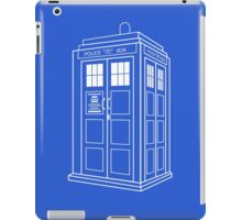 Who Police Booth iPad Case/Skin