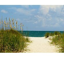 Peace At The Beach Photographic Print