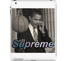 Obama Supreme iPad Case/Skin