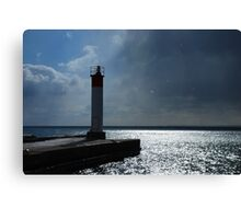 can yu see me Canvas Print