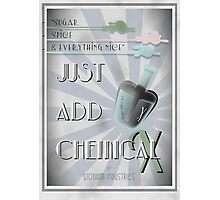 Just Add Chemical X Photographic Print