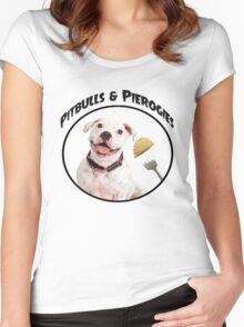 Pitbulls & Pierogies Women's Fitted Scoop T-Shirt